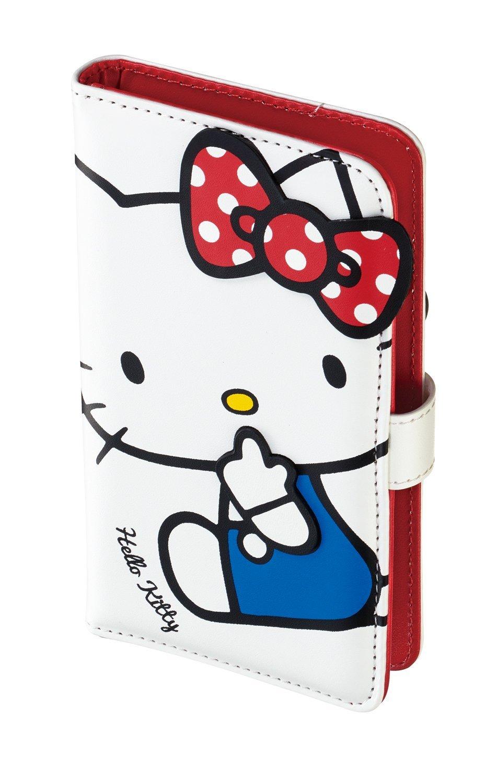 906d371b59 Amazon | サンクレスト iDress 多機種対応 サンリオ ダイカット手帳型マルチカバー ハローキティ ホワイト SMC-KT06 |  ケース・カバー 通販