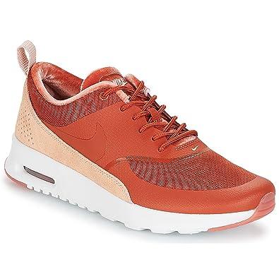 ad4dd31bc1 Nike Women's WMNS Air Max Thea Lx Gymnastics Shoes, Pink (Dusty Peach/Dusty