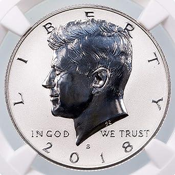 2014 S Kennedy Half Dollar Clad Proof Early Strike President Cameo Grading Best