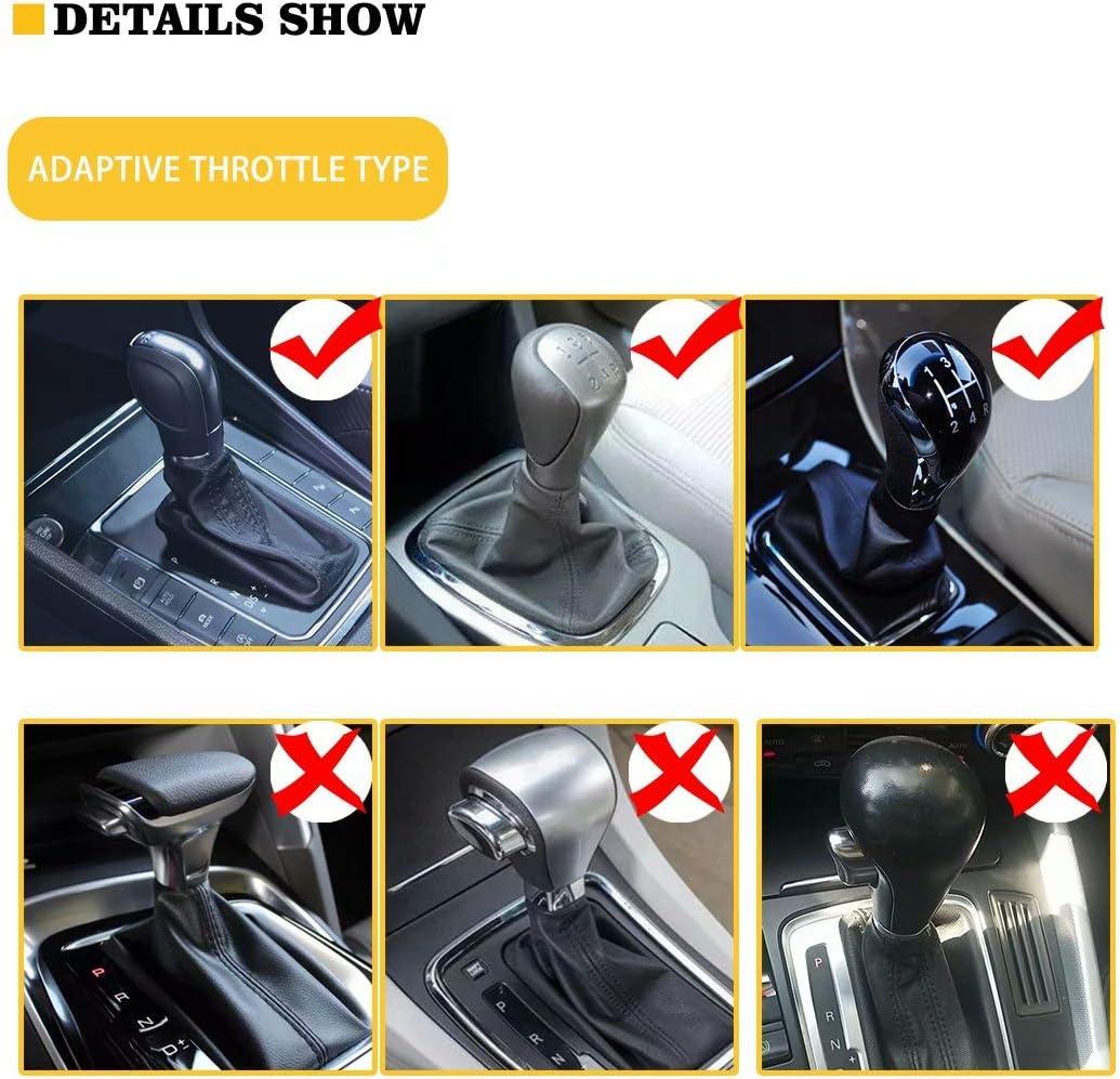 FOR U DESIGNS Comfortable Car Interior Accessiores for Women Men Shift Knob Cover Car Handbrake Cover Tie Dye Pattern 2 Pieces Set