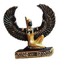 Baoblaze Ornamento Della Figurina Della Dea Antica Della Statua Decorativa Egiziana Alato Della Figurina