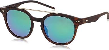 Polaroid PLD 1023/S K7 202 gafas de sol, Marrón (Brown Havana/Green Grey Speckled Pz), 51 Unisex-Adulto