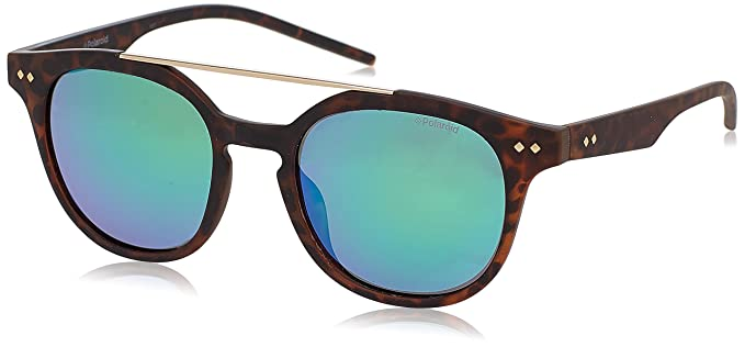 Polaroid PLD 1023/S K7 202, Gafas de Sol Unisex-Adulto, Marrón (Brown Havana/Green Grey Speckled Pz), 51: Amazon.es: Ropa y accesorios