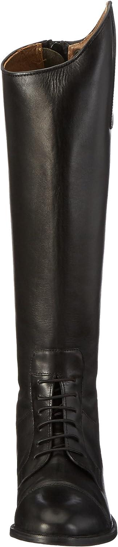 HKM Bottes d'équitation en cuir souple Longueur et largeur standard Noir