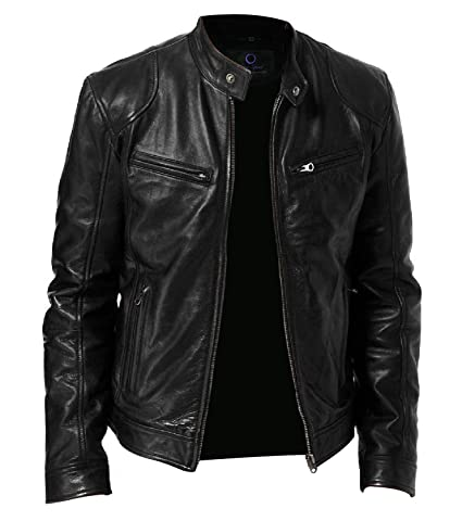 Chase Squad Mitigashio Lambskin Leather Jackets Men - Mens ...