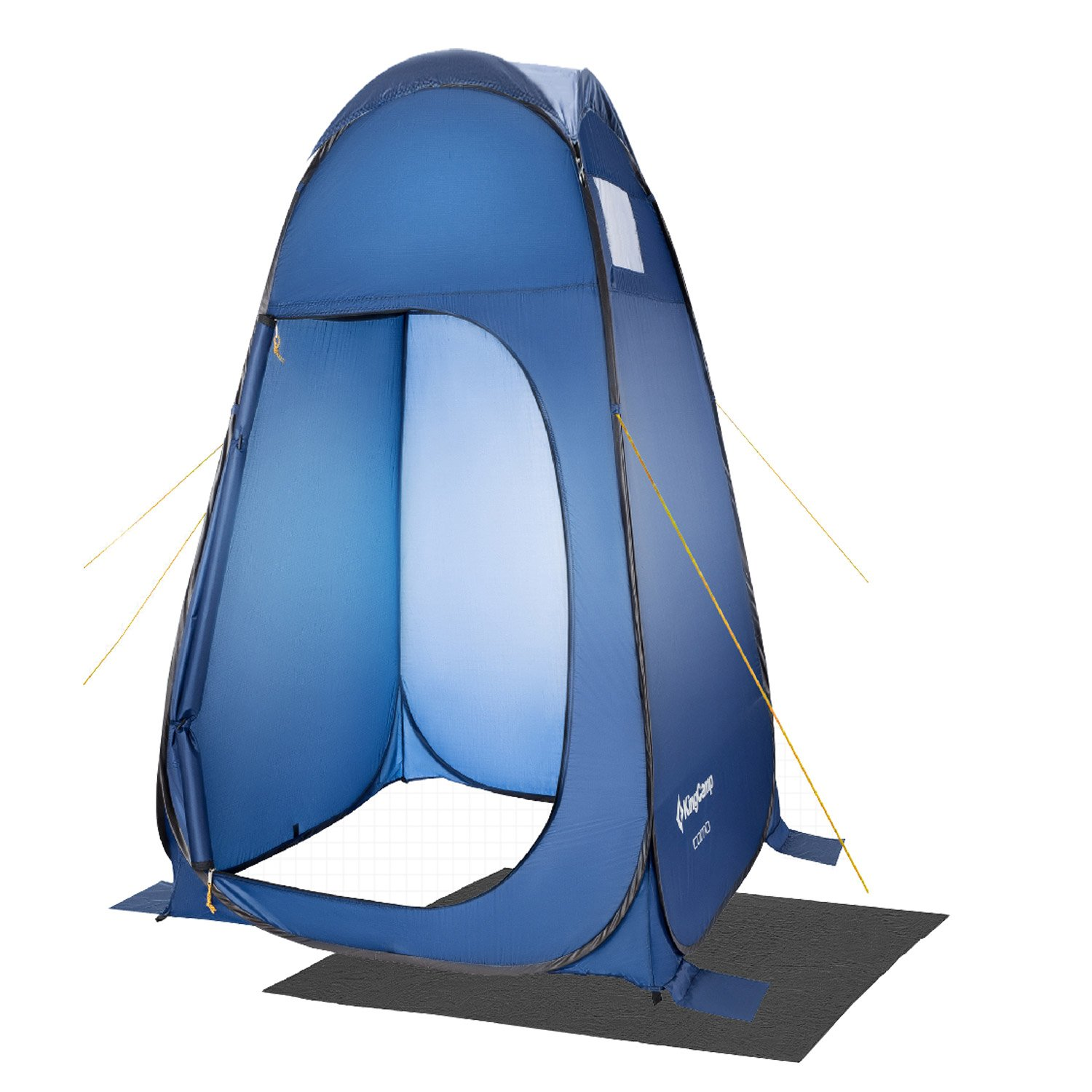 KingCamp Pop Up Dressing Changing Tent Shower Room Detachable Floor for Camping Outdoor Beach Toilet Portable with Carry Bag by KingCamp