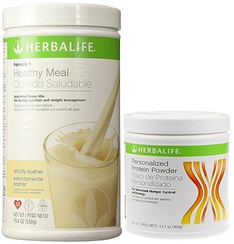 Amazon.com: Herbalife Fórmula 1 Shake mix-kosher (Vainilla ...