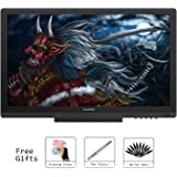 Huion KAMVAS GT-191 Digital Graphics Drawing Monitor 8192 Pen Pressure 19.5 Inch HD Pen Display for Windows and Mac PC