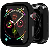 BOTOMALL Compatible with Apple Watch Case with Full Coverage Screen Protector 38mm 42mm 40mm 44mm Premium Hard Thin Lightweight Protective Bumper Cover for Smartwatch Series 5 4 3 2 1 44mm