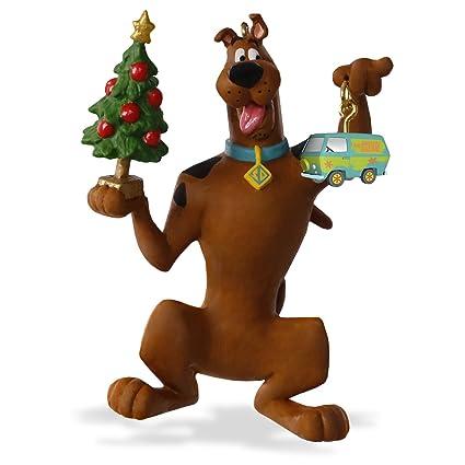 "Hallmark Keepsake Scooby-Doo ""Decking the Christmas Tree"" Holiday  Ornament - Amazon.com: Hallmark Keepsake Scooby-Doo"