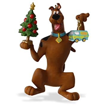 "Hallmark Keepsake Scooby-Doo ""Decking the Christmas Tree"" Holiday  Ornament - Amazon.com: Hallmark Keepsake Scooby-Doo"