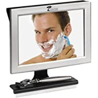 ToiletTree Products Fogless Shower Mirror with Squeegee