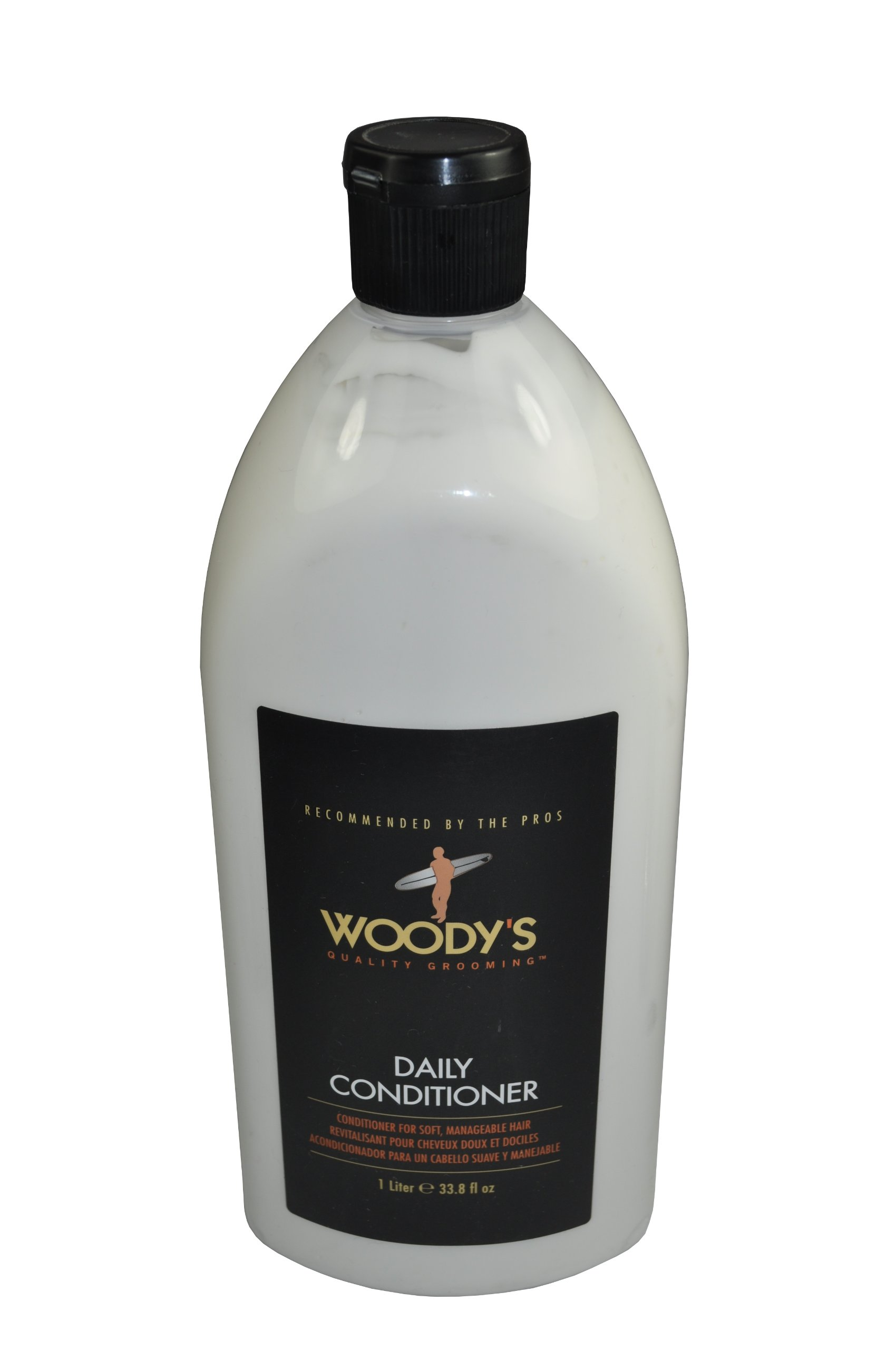Woody's Daily Conditioner for Men, 33.8 Ounce