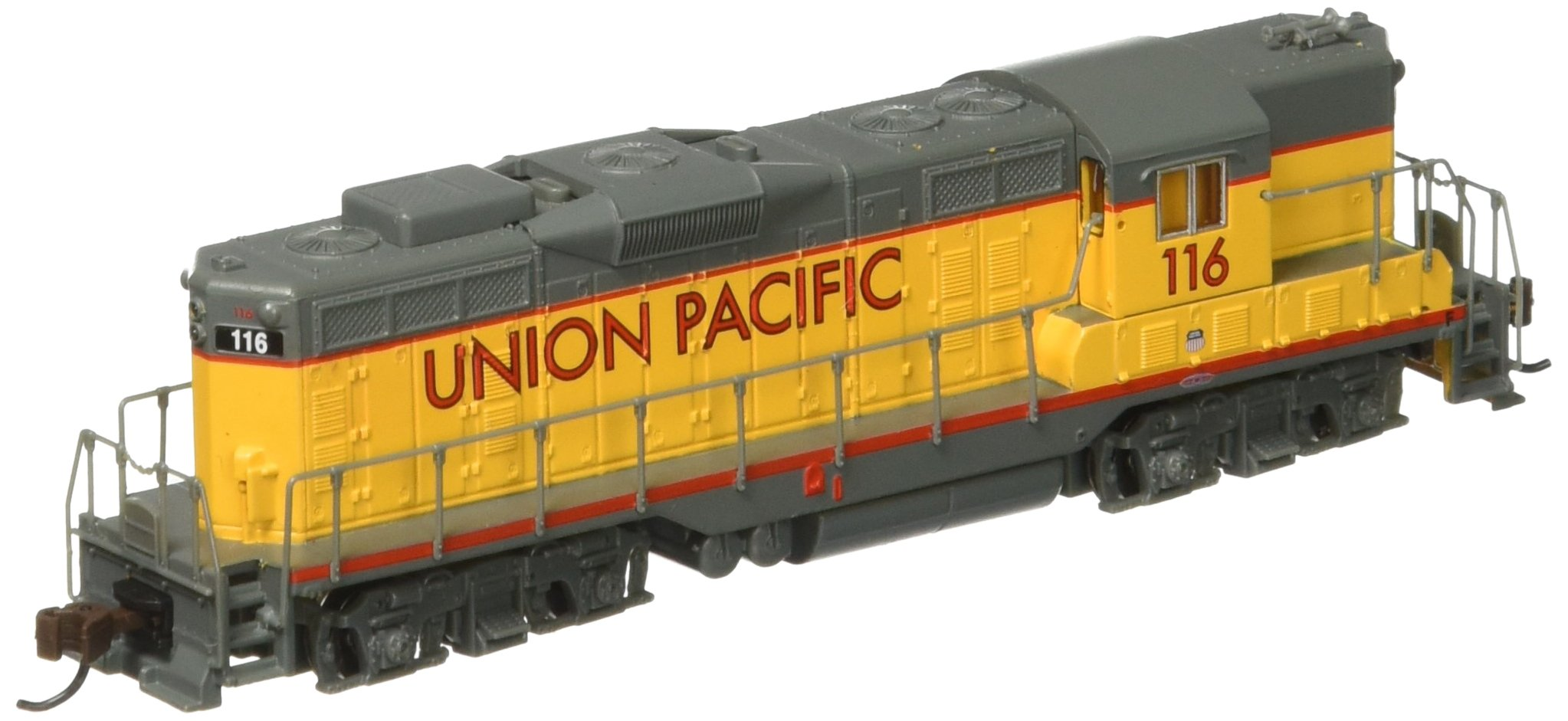 Best Rated In Hobby Train Locomotives Helpful Customer Reviews N Scale Dcc Wiring Diagrams Bachmann Industries Emd Gp7 Diesel Locomotive Union Pacific 116 With Dynamic Brakes