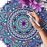 Caliart Fineliner Color Pens Set 100 Colors Fine