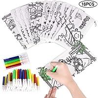 Faburo 16 Piezas Kit de Estuches para Colorear