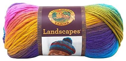 Amazon Com Lion Brand Yarn 545 201 Landscapes Yarn Boardwalk