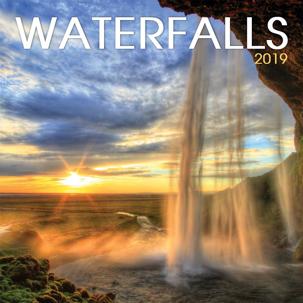 Turner Photo Waterfalls 2019 Wall Calendar (199980273120 Office Wall Calendar (19998027312)