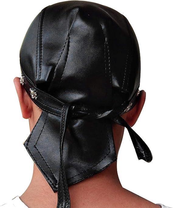 DAMILY Casquette Skeleton Skull Chapeau Bandana Faire des Chiffons pour Les Hommes Bonnet /à Doublure de Casque Respirant