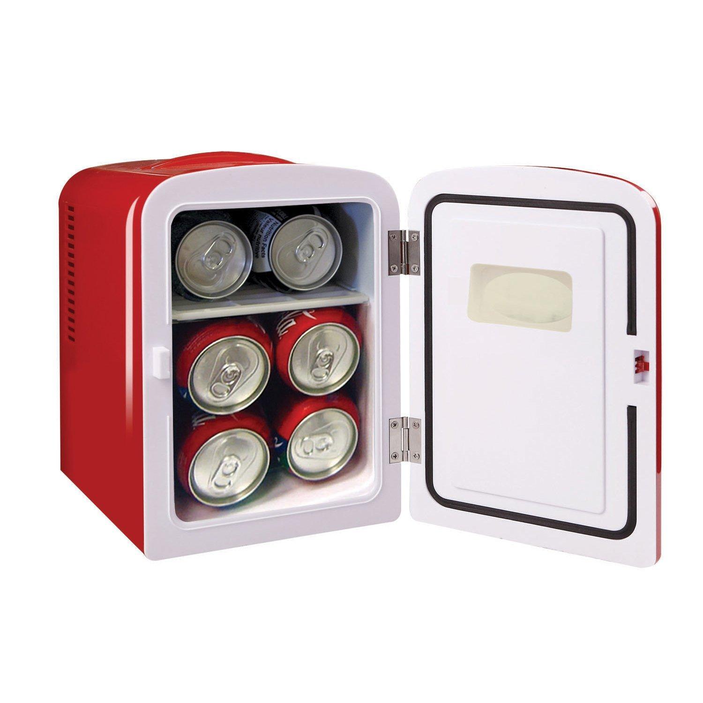 Igloo Mini Beverage Refrigerator - Retro 6 Can Mini Fridge Red - 4 Liter Capacity by Igloo (Image #2)