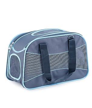 LXYUCWB Al Aire Libre Pet Pack Pet Backpack Cat Bag Cat Cage Portable Dog Backpack (Gris): Amazon.es: Jardín