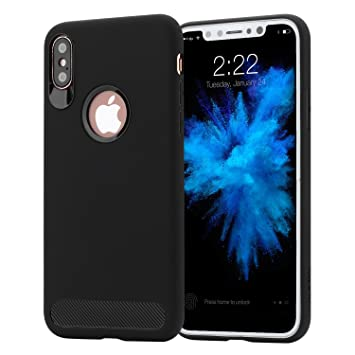 carcasa iphone 10 anti-rasguño