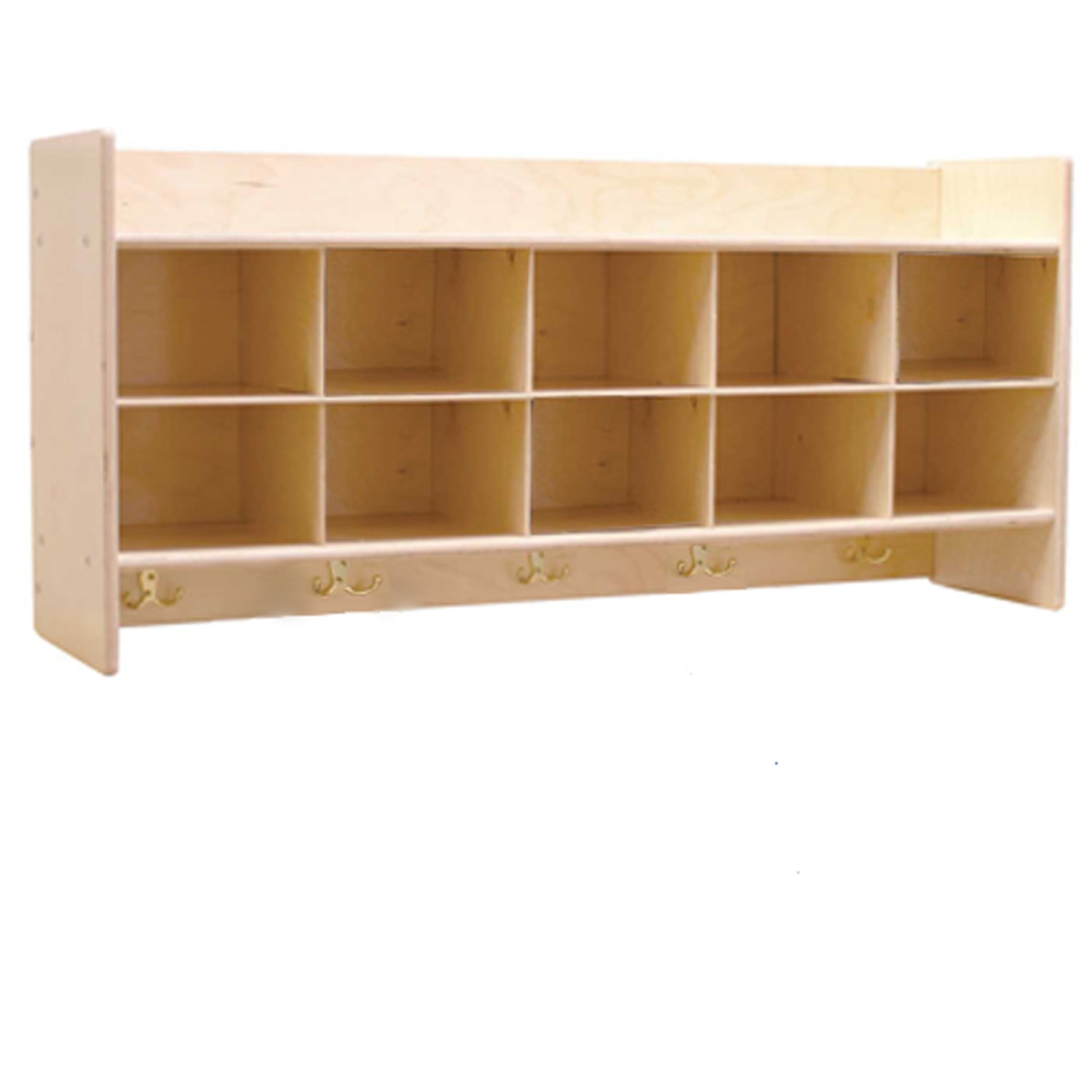 Contender C51409 Wall Locker & Cubby Storage without Trays