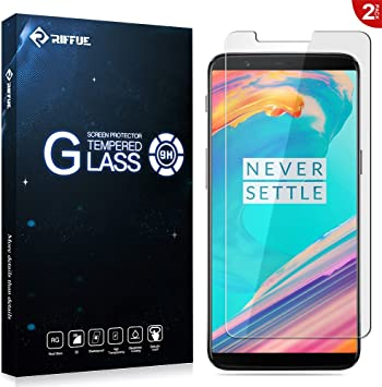 RIFFUE OnePlus 5T Protector de Pantalla, One Plus 5T Cristal ...