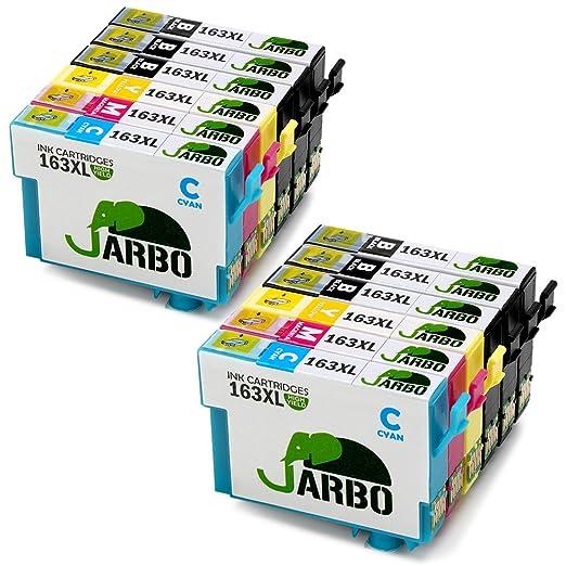 14 opinioni per JARBO Compatibile Epson 16XL (T1631 T1632 T1633 T1634) Cartucce d'inchiostro