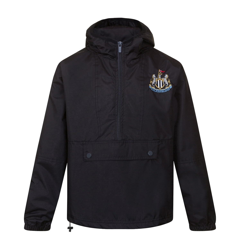 Newcastle United FC - Chaqueta Cortavientos Oficial - para Hombre ...