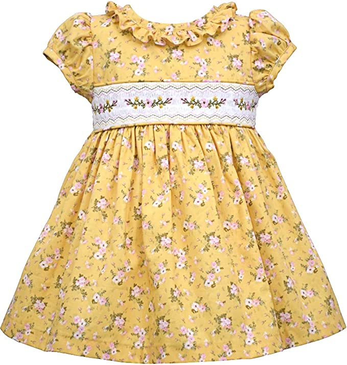 Kids 1950s Clothing & Costumes: Girls, Boys, Toddlers Bonnie Jean Girls Smocked Dresses $29.95 AT vintagedancer.com