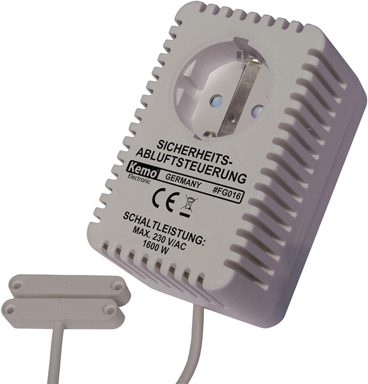 Kemo FG016 - Control de Salida de Aire: Amazon.es: Electrónica