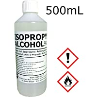 IPA 100% | 500mL | Lab/Pharmaceutical Grade | Isopropyl Alcohol/Isopropanol (99%)