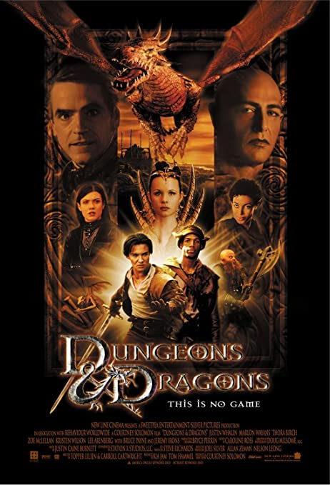 Image result for dungeons and dragons movie poster