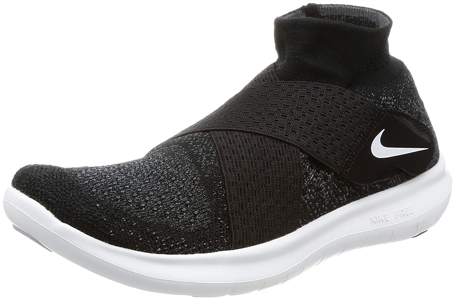 NIKE Women's Free RN Motion FK 2017 Running Shoe B00CER1W72 11 B(M) US|Black/White-dark Grey-volt