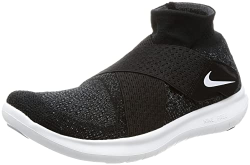 32fb7d70d940b Image Unavailable. Image not available for. Color  Nike Women s Free RN  Motion FK 2017 Running Shoe (Black White-Dark Grey