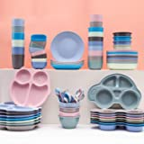 4pcs Kids Divided Plate, Divided Plates for