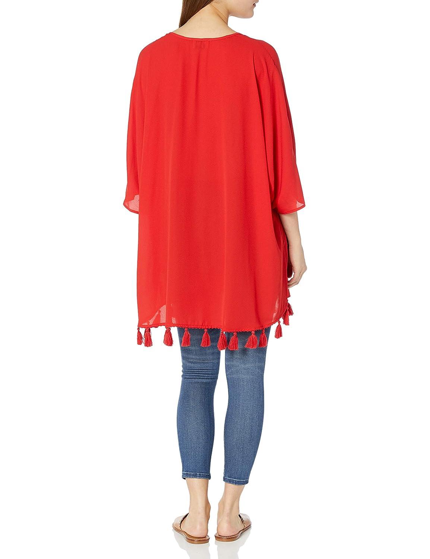 Show Me Your Mumu Womens Shook Tassel Tunic
