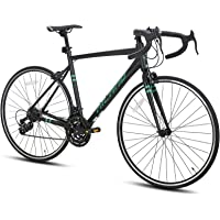 Hiland Road Bike 700c Racing Bike Aluminum City Commuter Bicycle with 21 Speeds