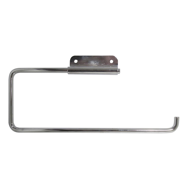 InterDesign Basic Küchenrollenhalter | Wandrollenhalter für 1 Rolle ...