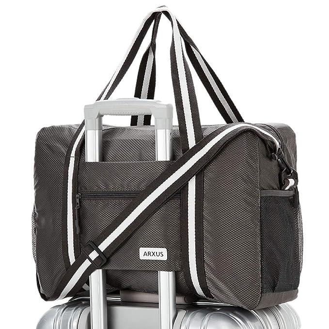 Amazon.com: Arxus - Bolsa de viaje ligera e impermeable ...
