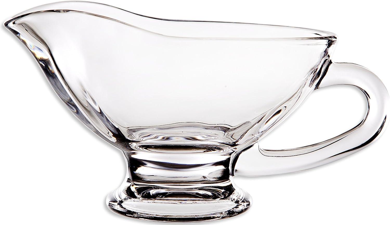Circleware Saucy de salsera (cristal, 10 Onza, edición limitada cristal utensilios para: Amazon.es: Hogar