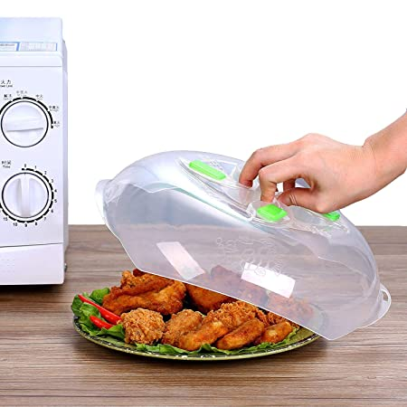 Cubierta para microondas antisalpicaduras para platos de comida ...