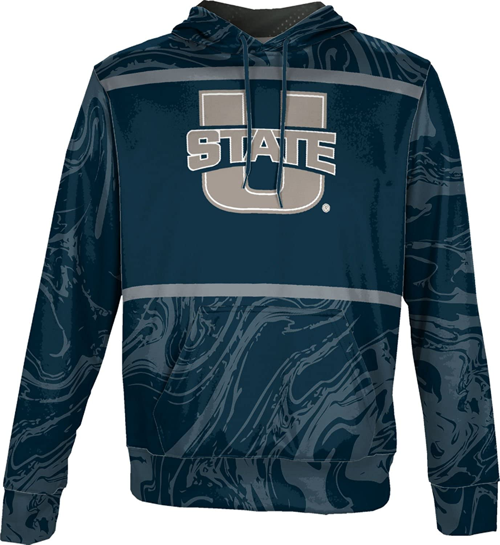 Ripple ProSphere Utah State University Mens Pullover Hoodie School Spirit Sweatshirt