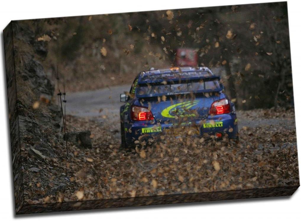 30x20 Inch Canvas Art Framed Picture Print Subaru Impreza Sti