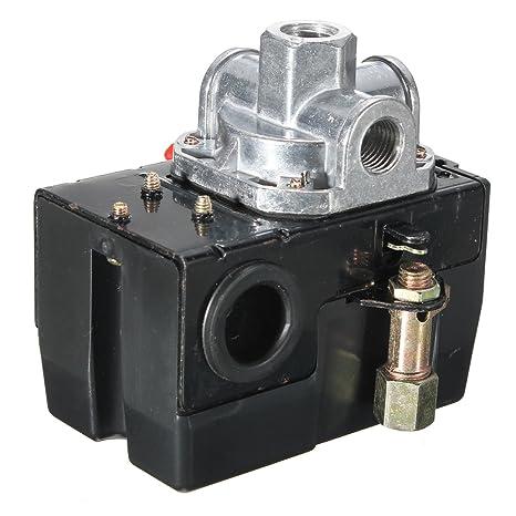 MASUNN Pesado Deber Interruptor De Presión De La Válvula De Control del Compresor De Aire 90