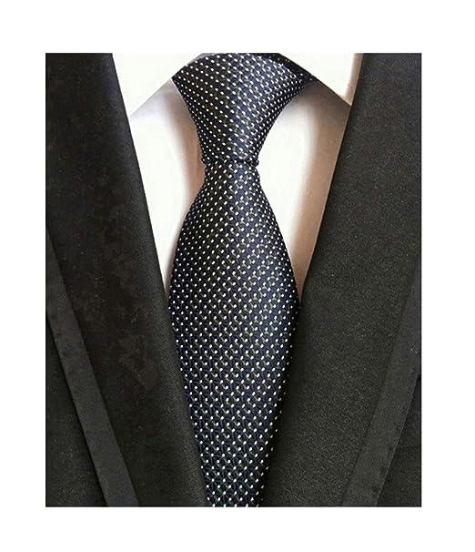 Amazon.com: corbata de negocios formal de jacquard de ...