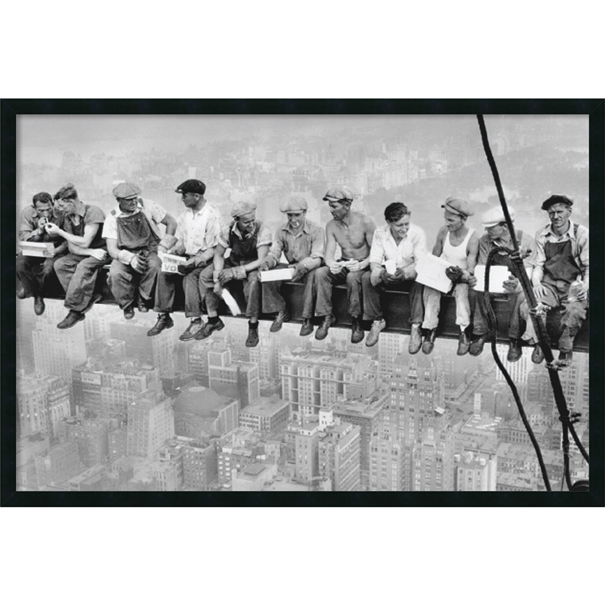 Amazon.com: Framed Art Print, Lunch on a Skyscraper, 1932\' by ...