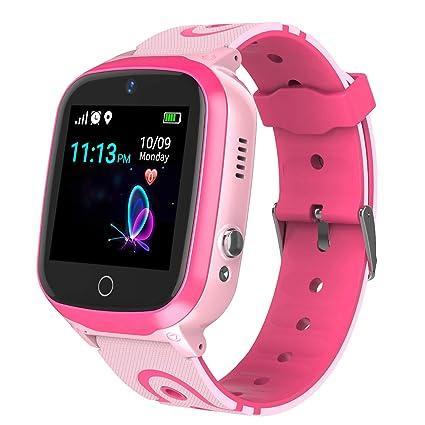 Amazon.com: Reloj inteligente con rastreador GPS para niños ...