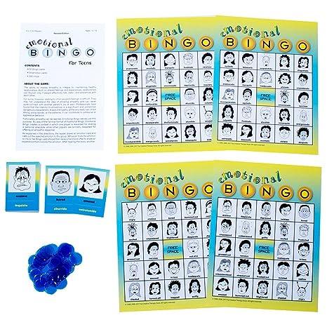 Amazon.com: Emotional Bingo for Teens: Toys & Games